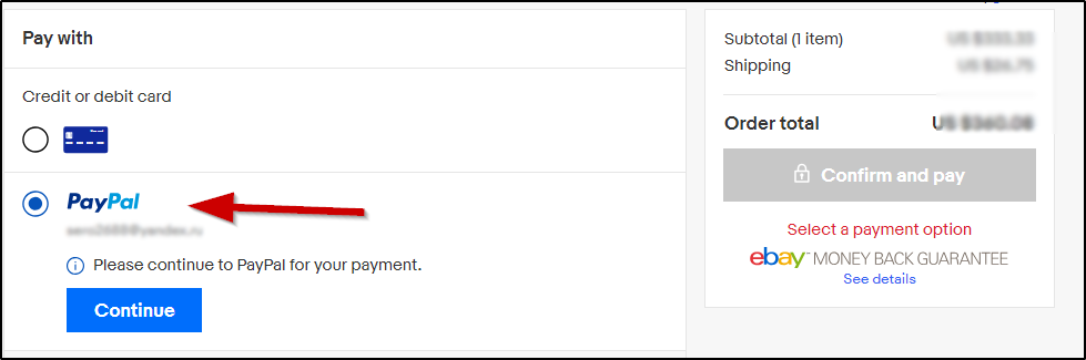 PayPal инструкция для eBay