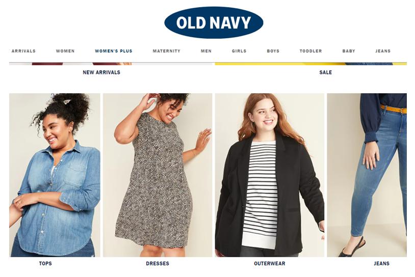 Old Navy  интернет магазин американской одежды