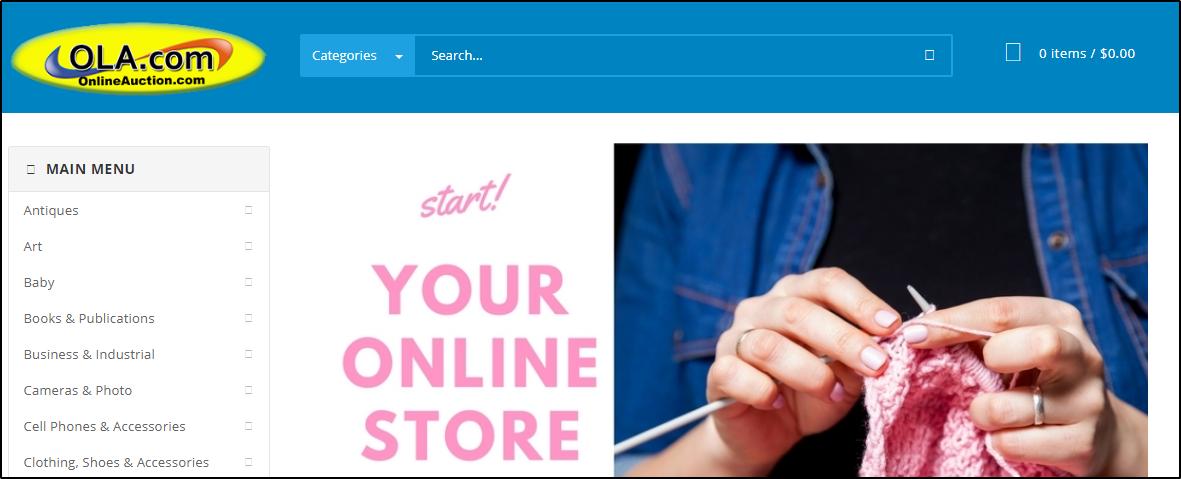 OnlineAuction: интернет аукцион